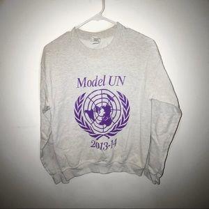 Vintage Model UN Crewneck Sweatshirt